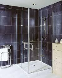 easa elegance full height bi folding glass shower door