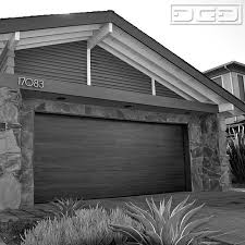 huntington beach ca mid century modern garage doors custom designed crafted midcentury