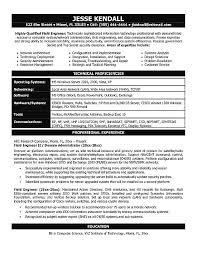 Hp Field Service Engineer Sample Resume 9 Ideas Of Hp Field Service  Engineer Sample Resume For Free Download