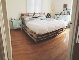 Nautical Bedroom Furniture Nautical Bedroom With Pallet Bed Frame All Things Beachy