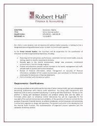Iso Auditor Resume Sample Fresh Resume Internal Promotion Sample
