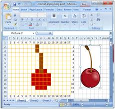 Create Your Own Knitting Chart Crochet Parfait Making Your Own Crochet Or Knitting Charts