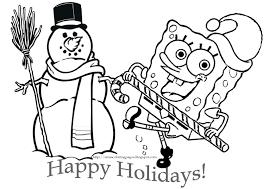 Small Picture Spongebob Squarepants Coloring Pages coloringsuitecom