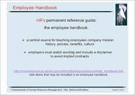 Free Employees Handbook Small Business Employee Handbook Template Unique Free Employment