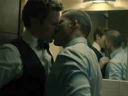 Young gay boys kissing for cash