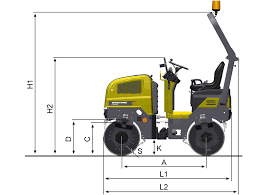 dynapac cc900 • dynapac atlas copco blueprint side view dynapac cc900