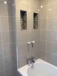 mosaic alcoves with bathroom installation in leeds