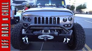 a new jeep wrangler jk led grille from oracle jeep