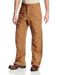 Carhartt Men's Flame Resistant Quilt Lined Canvas Jean at Amazon ... & Carhartt Men's Flame Resistant Quilt Lined Canvas Jean,Brown (Closeout),44 x Adamdwight.com