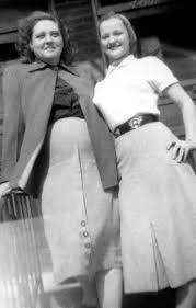 "a young Gladys Love Smith Presley. Her parents were Robert and ""doll"" Smith  