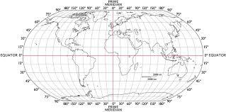 Latitude And Longitude World Map With Latitude And