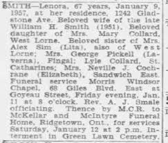 Lenora Smith - Newspapers.com