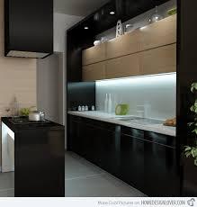 modern black kitchen cabinets.  Kitchen Perfect Modern Black Kitchen Cabinets 01 More Pictures Gorgeous  Throughout D