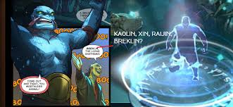 again fourth spirit was shown the last comic with monkey king