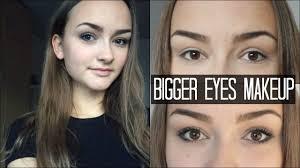 make small eyes bigger using only makeup