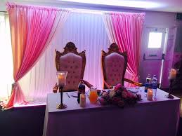 wedding day decoration centrepieces backdrops chair covers mehndi nights covering all areas