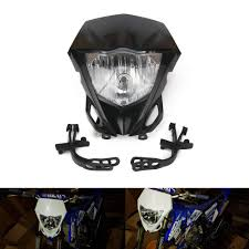 Enduro Lights Amazon Com Dirt Bike Supermoto Headlight Kit Motorcycle Led