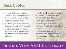 Block Quotes Apa Adorable Apa Reference Format Quote