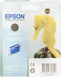 <b>Картридж EPSON</b> T0481, черный [<b>c13t04814010</b>]