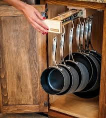 Glideware pullout pot and pan cabinet organizer. I like this ...