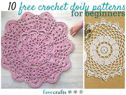 Crochet Doily Patterns Adorable 48 Free Crochet Doily Patterns For Beginners New Craft Ideas