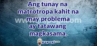 Quotes Tagalog About Friendship Fascinating Barkada Quotes