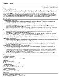 Resume Purchasing Professional Purchasing And Procurement Lead Templates To