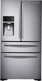 samsung french door refrigerator. samsung - 29.7 cu. ft. 4-door flex french door refrigerator stainless e