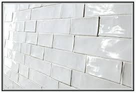 impressing handmade subway tile on backsplash tiles design