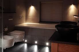 Bath Panel Lights Mini Recessed Lights In The Bath Panel Make A Feature Of It
