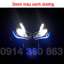 2 dây đèn LED Xi nhan audi chạy đuổi và định vị - ledxinhan