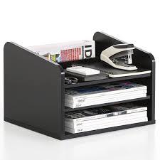 fitueyes home printer stands desk drawer organizers desktop file