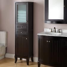 modern bathroom storage cabinets. Looking Natural Oak Nano Bathroom Cabinet Design Ideas Ceramic Washbasin On The Table Top White Double Sink Decorating Modern Medicine Storage Cabinets