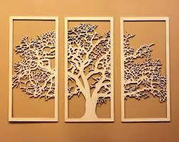 saveenlarge on wood tree cutout wall art