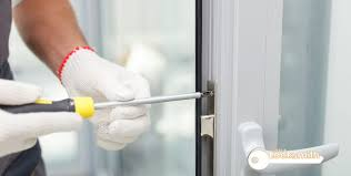 fixing a loose balcony sliding door lock locksmith singapore condo jurong west