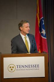 right governor haslam addresses tbr s 2018 annual meeting after receiving tbr s gordon fee leadership in education award