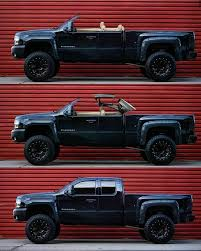 Chevy Silverado with hardtop convertible roof | Favorite Cars ...