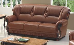 Sofa in Brown Bonded Leather by American Eagle Furniture