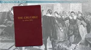 irony the crucible dramatic verbal situational video  irony the crucible dramatic verbal situational video lesson transcript com
