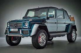 Interested parties should confirm with the authorised dealer about the correct specification of the product they desire to purchase. Meet The World S Most Expensive Suv The Mercedes Maybach G650 Landaulet The Financial Express