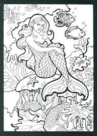 mermaid colouring sheet. Delighful Colouring Merman Coloring Pages Detailed Mermaid Very Colouring  Realistic Hard  Intended Mermaid Colouring Sheet F