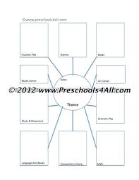 Preschool Lesson Plan Template Boo Elipalteco