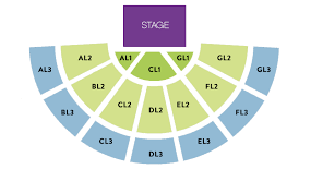 Big Brother Seating Chart Amphitheater Sandia Resort Casino