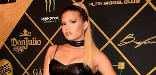 chanel west coast poses for a photo at the maxim hot 100