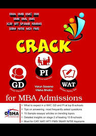 crack wat gd pi for mba admissions must for cat xat iift fms crack wat gd pi for mba admissions must for cat xat
