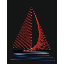 String art Free Boat Pattern pattern