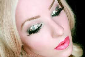 you makeup tutorial glam new years eve party silver sequin eyes