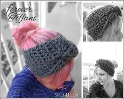 Easy Crochet Headband Pattern Free Mesmerizing Elegant Easy Crochet Headband Ear Warmer Pattern Free Crochet Ear