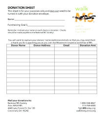 Fundraiser Form Templates Fundraiser Form Templates Hashtag Template Free Sample Order