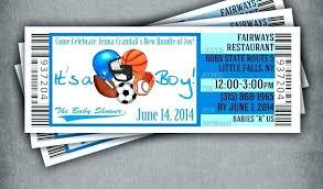 Free Football Invitation Templates Soccer Ticket Invitation Template Free Football Printable
